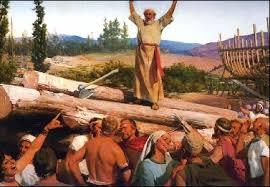 Noah preaches
