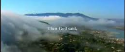 then God said