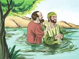 Saul baptized