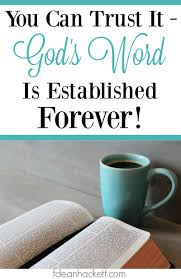 trust the word