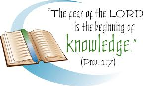 Fear of God, brings knowledge