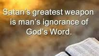 Ignorance of God's word