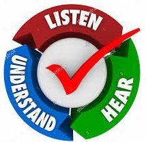 Listen, hear, and understand Gods word