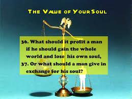 Mark 8:36-37