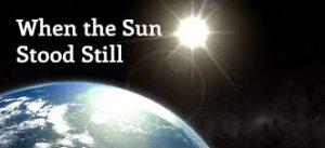Sun Stood Still